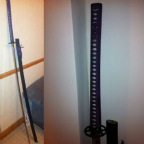 "Fully Functional Hand Crafted Odachi, From Japan.  Excellent Sword 5'6"" Long"